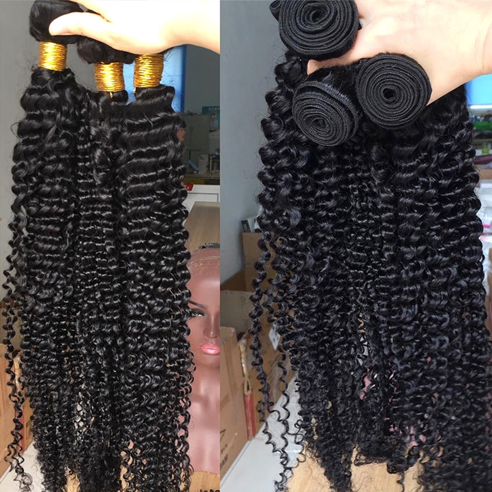Brazilian Deep Wave Hair Bundles 4