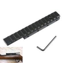 MIZUGIWA Schwalbenschwanz Verlängern Weaver Picatinny Schiene Konverter Adapter 11mm bis 20mm Gewehr Bass Taktische Pistole Airsoft