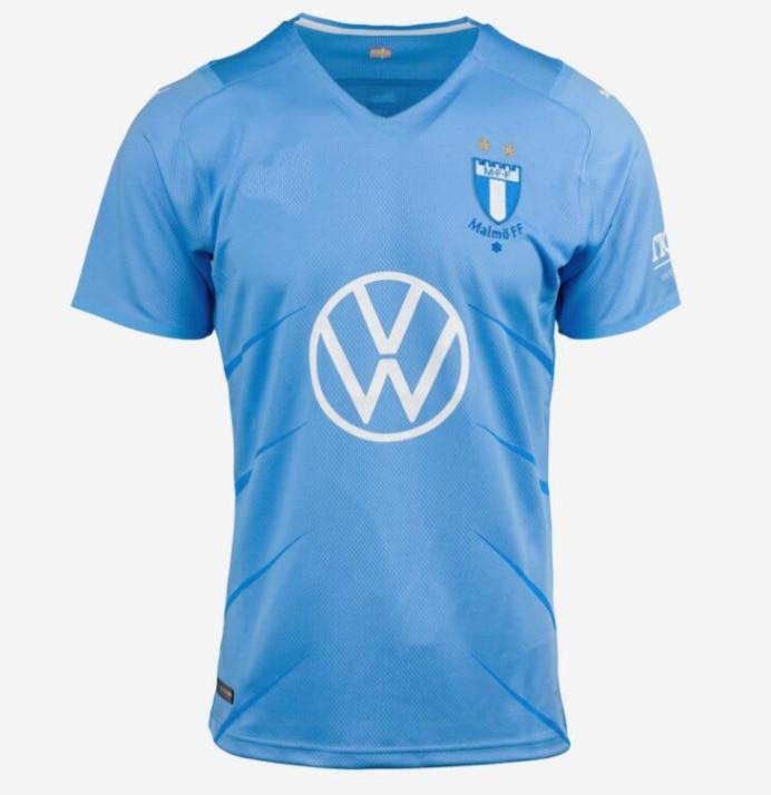 21 22 Malmö FF football shirt 2021 2022 Malmö T-shirts Ola Toivonen Anders Christiansen Isaac Kies