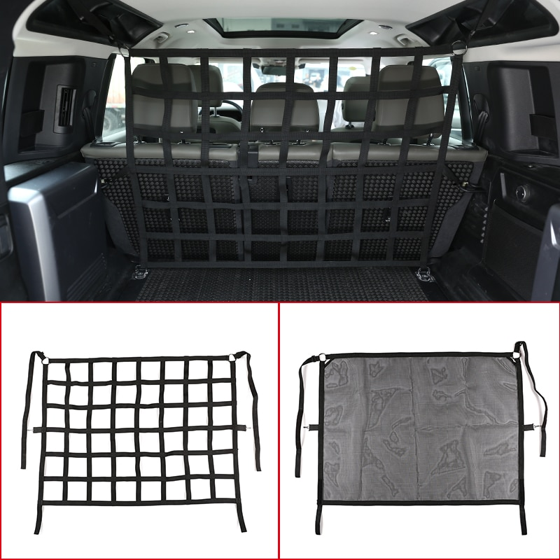 For Land Rover Defender 110 2020-2021 Car Tail Box Trunk Cargo Safety Net,Pet Dog Security Fence Grid,Auto Interior Accessories