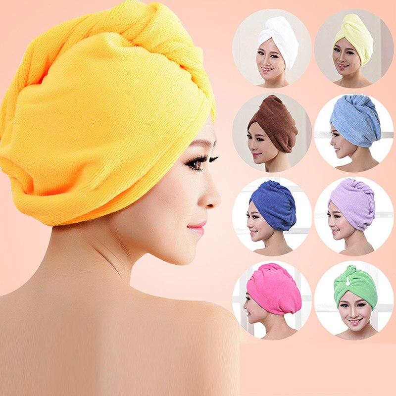 Bonnet de serviette en microfibre à séchage rapide, plus épais, serviette de bain pour Salon de coiffure, séchage rapide, outils de bain