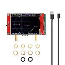 Analyseur de réseau vectoriel 3G 2.8 pouces écran tactile S-A-A-2 NanoVNA V2 analyseur dantenne ondes courtes HF VHF UHF 50KHz ~ 3GHz