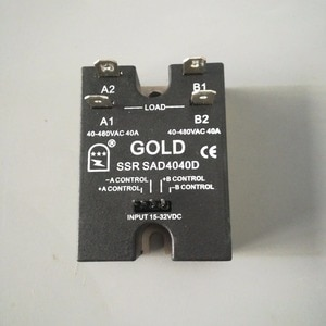 40A Dual output  15-32v voltage Solid State Relay  SAD4040D