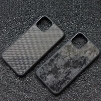 forging real carbon fiber tpu silicone phone case for iphone 12 pro max mini luxury glossy marbling back case iphone11 pro max