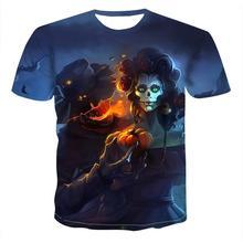Pumpkin Lantern Skull 3d Print T Shirt Men Women Tshirt Summer Casual Short Sleeve O -Neck Streetwea