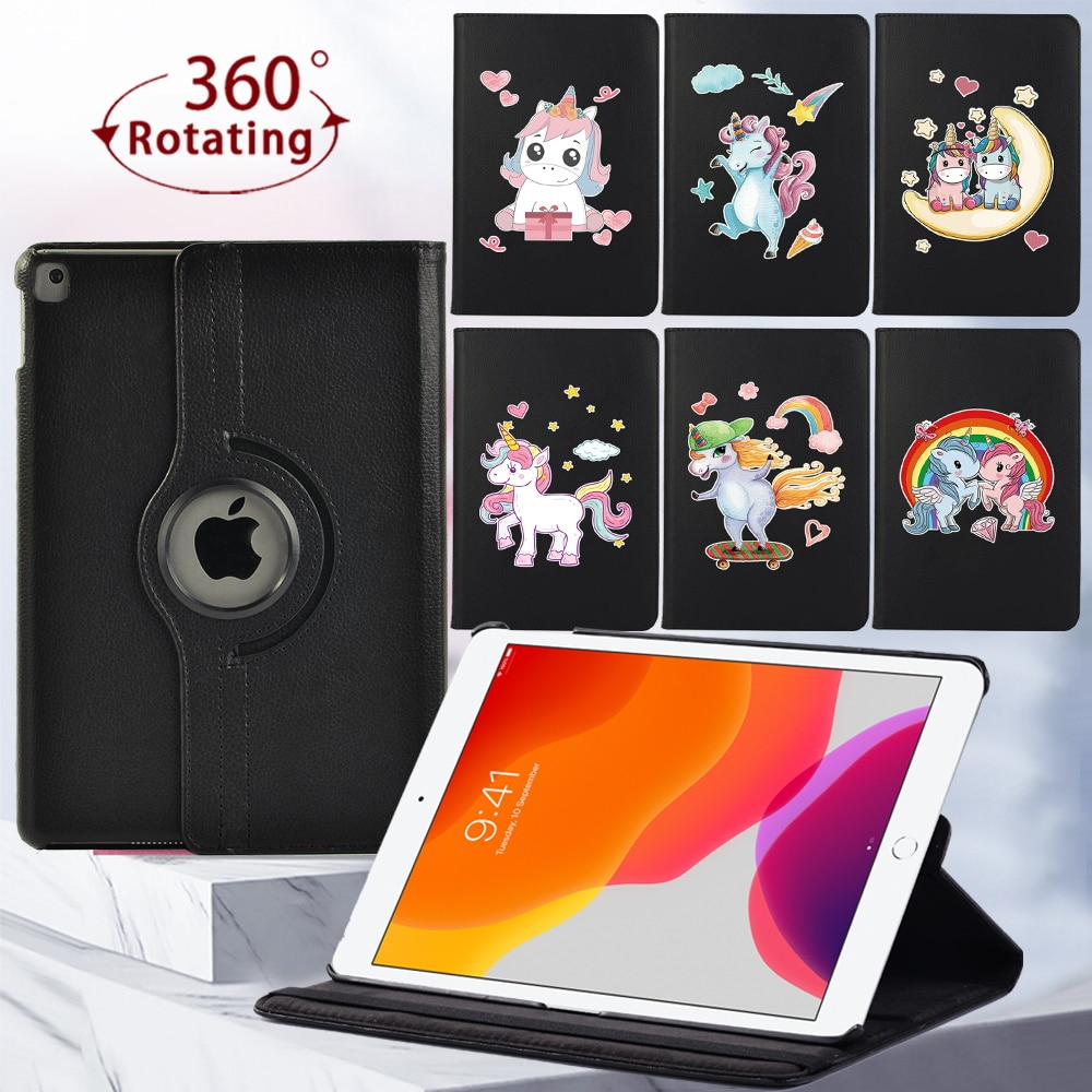 360 Rotating Tablet Case for Apple IPad 8th Gen/IPad 2/3/4/ IPad Mini 4/5/ Ipad 5th Gen/6th Gen/7th Gen Cover Case
