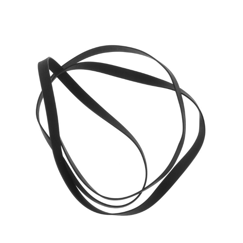 5MM Rubber Drive Belt Turntable Transmission Strap Replacement for Phono Tape