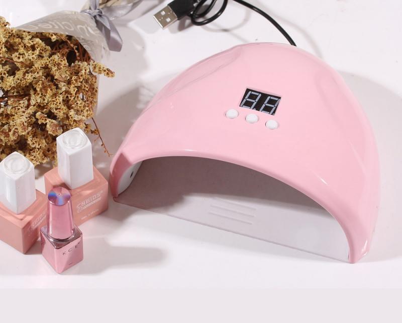 Lámpara LED UV para secador de uñas 36W lámpara de hielo para manicura Gel lámpara de secado para Gel barniz uñas herramienta de enfermería secador de uñas