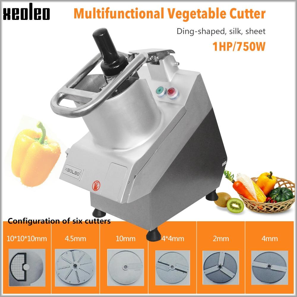 Cortadora de vegetales XEOLEO, cortadora de vegetales Fruite, trituradora de verduras, máquina cortadora de verduras multifunción, 750 W, gran boca