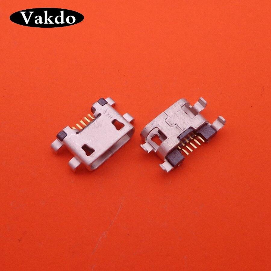 2 uds Micro mini conector de toma de corriente con USB dock plug cargador de puerto de carga para UHANS K5000