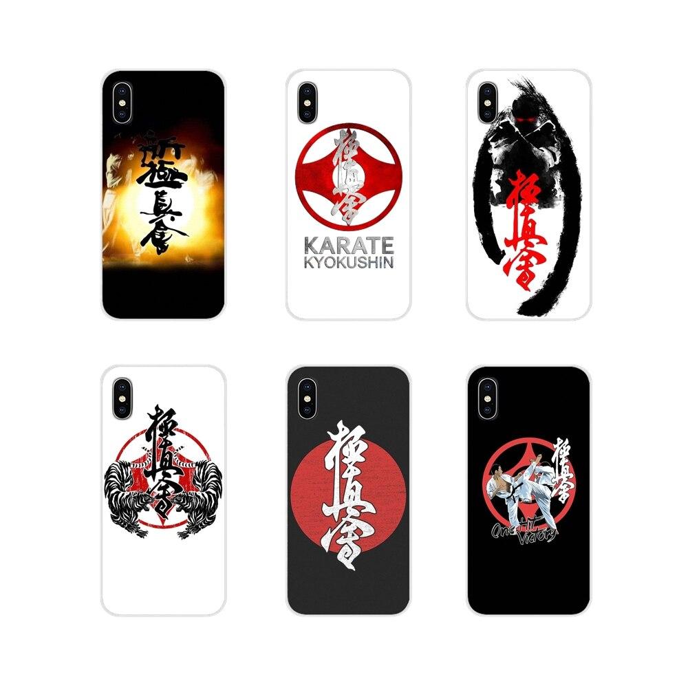 Para Samsung Galaxy S2 S3 S4 S5 Mini S6 S7 borde S8 S9 S10E Lite Plus cubiertas de los casos del teléfono Oyama historia del Karate para niños Kyokushin grados