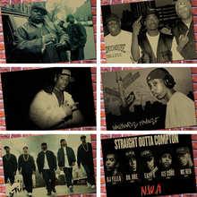 Плакат Biggie Smalls/DITC Big L Rock West Coast Rap Hip Hop Rap Singer, высококачественный домашний декор, настенное искусство, украшение для дома o794