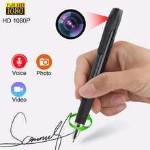 Mini Secret Audio Voice Recorder Pen Portable Full HD 1080P Video Recorder Digital Voice Recording Device Cam Dictaphone