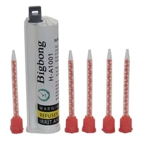 glue adhesive 75ml grey 101 ab glues two component strong adhesives with 5pc 101 glues mixed tube static mixing nozzles set