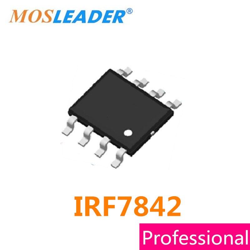 Mosleader IRF7842 SOP8 100 قطعة 30V 40V IRF7842TR IRF7842TRPBF 7842 عالية الجودة