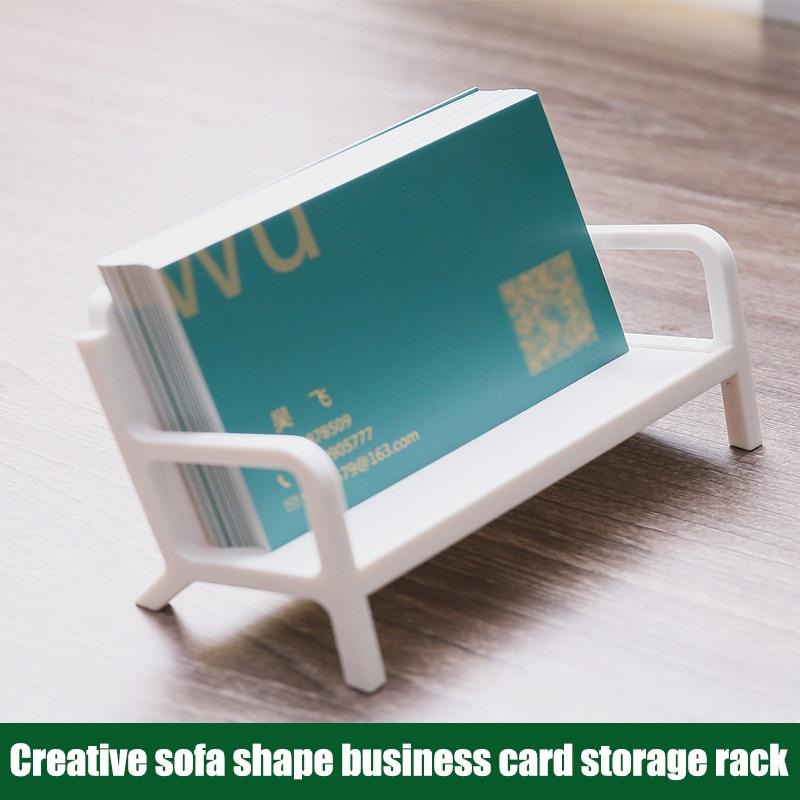 Funda para tarjeta de visita con figura de banco, Soporte para tarjeta...