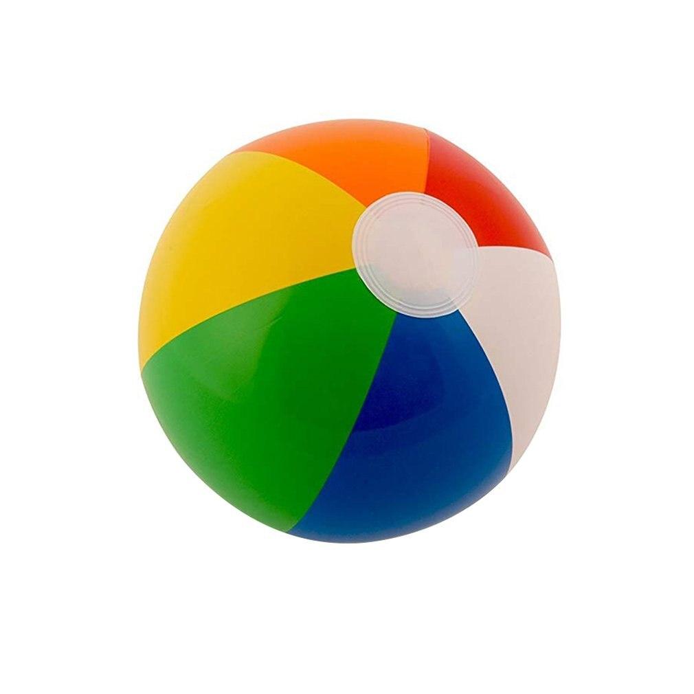 30 см цветной надувной шар Детская игра водное поло 6 цветов пляжная игрушка мяч пляжный мяч цветной яркий