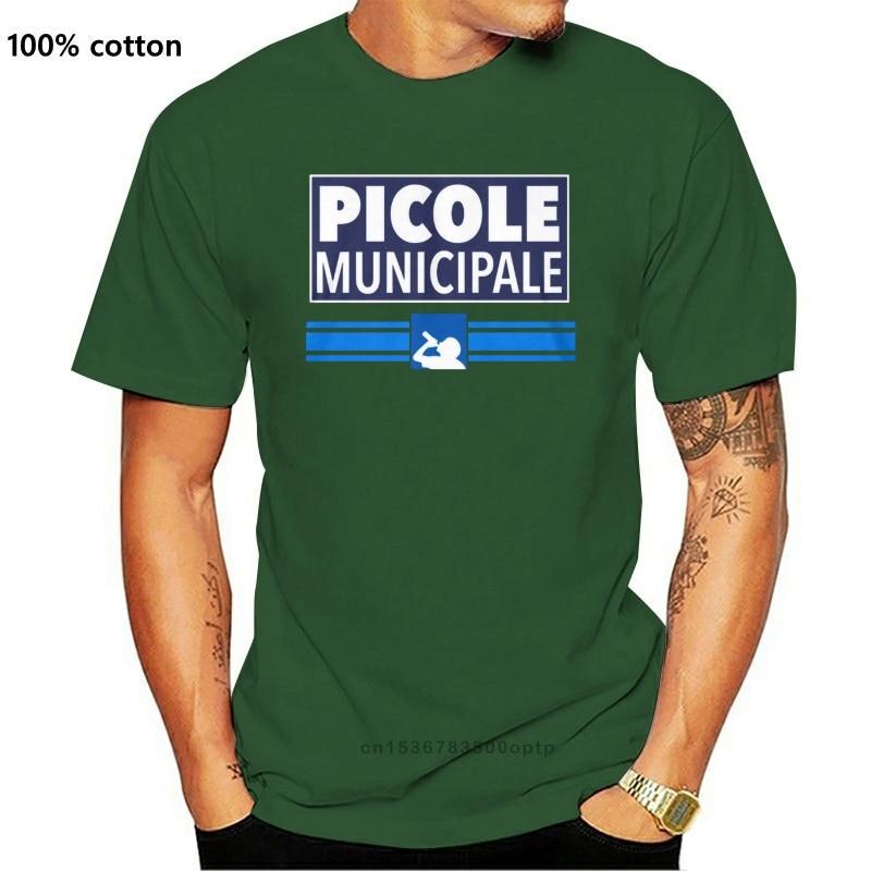 Picole Municipale Camiseta 2 2019 nueva marca Carta de manga corta especial...