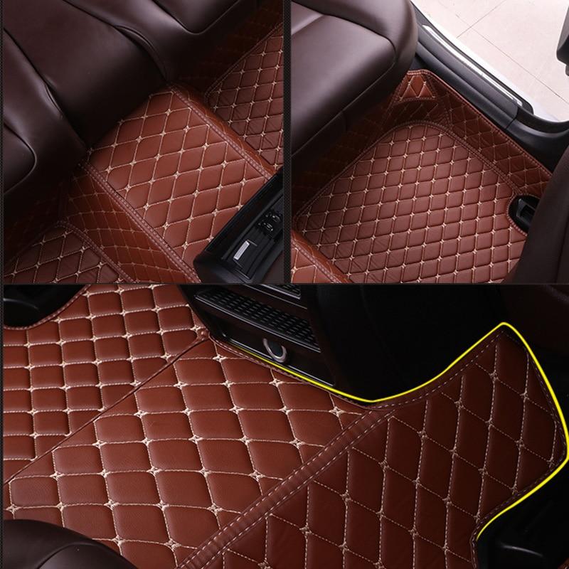 Custom Car Floor Mats for Chrysler 300c Sebring PT Cruiser Grand Voyager 300s Automobiles accessories car styling enlarge