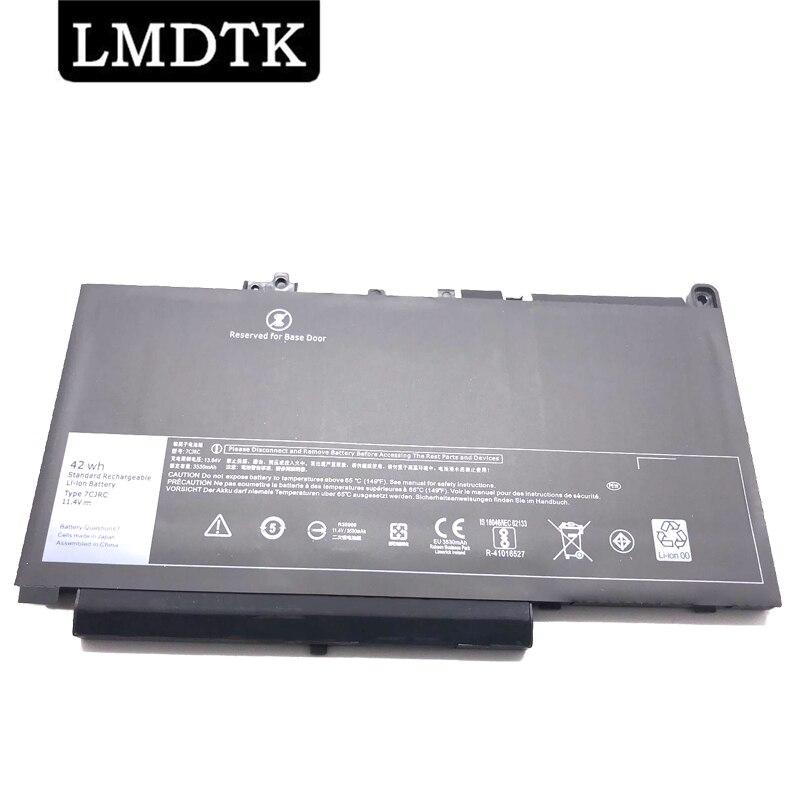 LMDTK جديد 7CJRC بطارية الكمبيوتر المحمول لديل خط العرض E7270 E7470 سلسلة دفتر 21X15 021X15