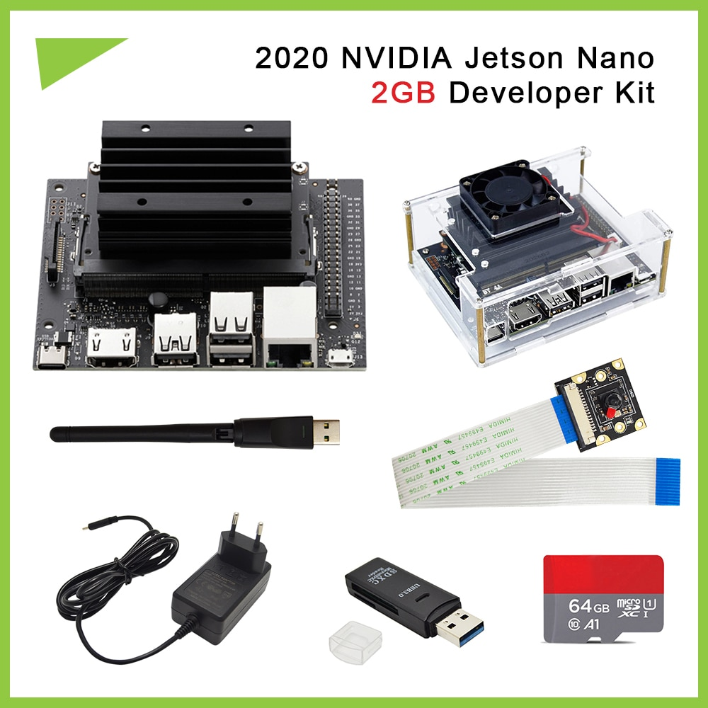 2020 Nvidia Jetson Nano 2GB Developer kit Small Powerful Computer for Adelivers outstanding AI performance
