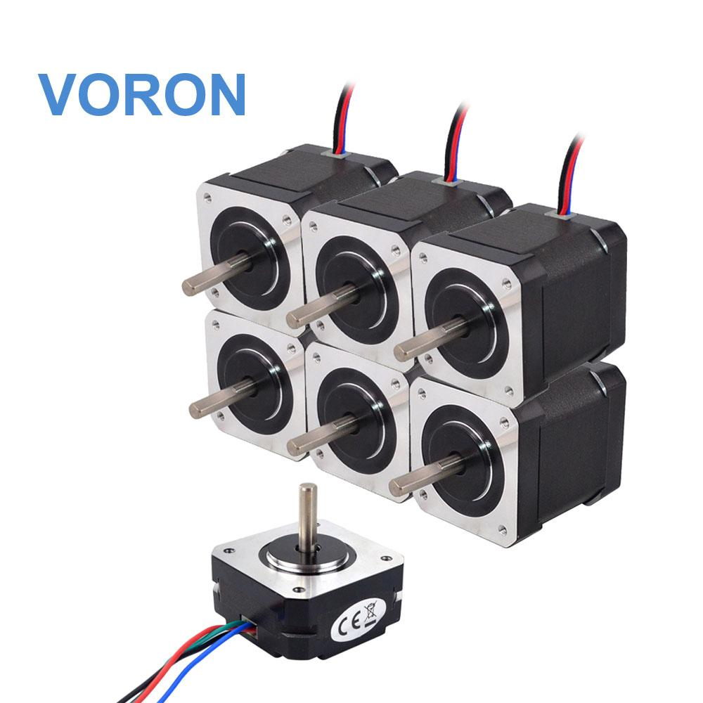 Funssor 1 مجموعة VORON 3d طابعة DIY احتراق 3D طابعة NEMA17 عدة السائر المحركات