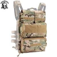 sinairsoft tactical pouch zip on 2 0 panel platform for jpc cpc avs vest vertical and horizontal gp magazine expandable pocekts