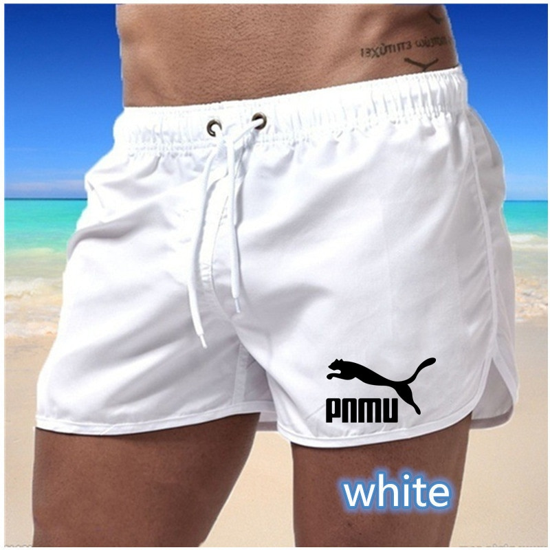 2021 Men Gyms Fashion Fitness Shorts Bodybuilding Joggers Summer Quick-dry Cool Short Pants Male Casual Beach Brand Sweatpants