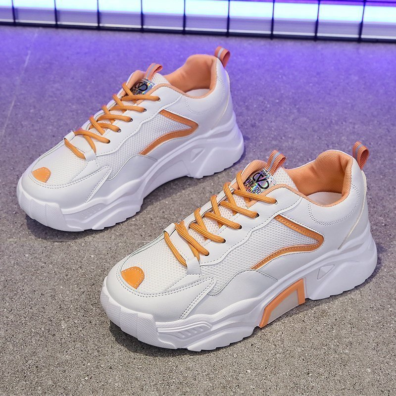 Women Shoes 2021 Chunky Sneakers Lady Vulcanize Shoes Femme Platform Sneakers Trainers Casual Shoes Woman Brand Summer Sports