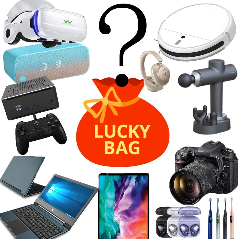 Lucky Box - Mystery Blind Box Electronic Best Gift Random Style Interesting and Exciting Lucky Box Such for Holidays / Birthday