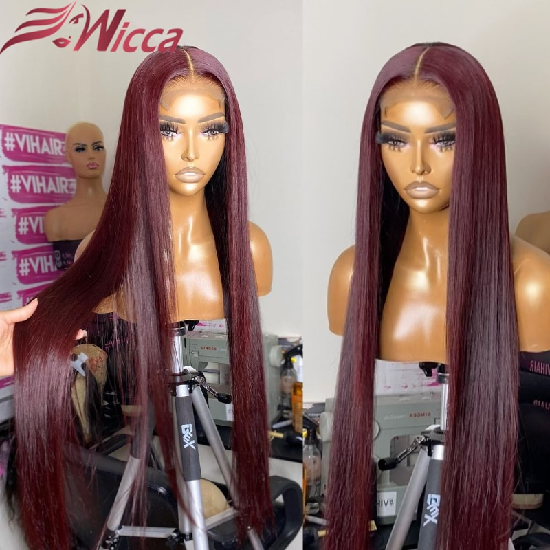 180-density-pre-plucked-99j-burgundy-colored13x4-lace-front-wigs-brazilian-straight-remy-human-hair-for-women-with-baby-hair