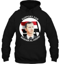 Support For Syria Syrian President Bashar al Assad Assad New Streetwear men women Hoodies Sweatshirts