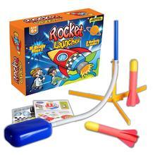 Neueste Stomp Rakete Spielzeug Pedal Spiele Outdoor Spielzeug Luft Gedrückt Stomp Rakete Launcher Schritt Pumpe kinder Fuß Rockets Spielzeug