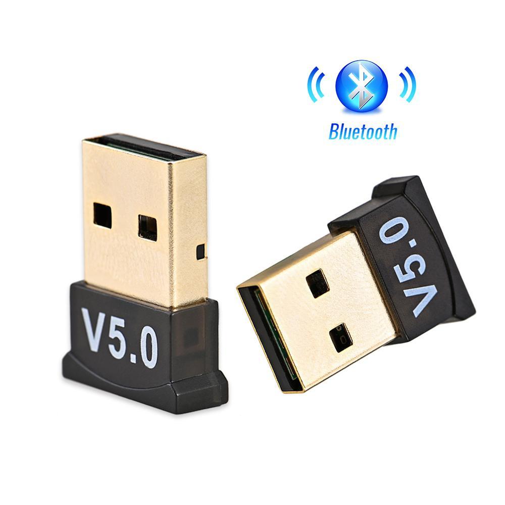 Adaptador inalámbrico USB Bluetooth 5,0 Dongle receptor de sonido de música Adaptador...