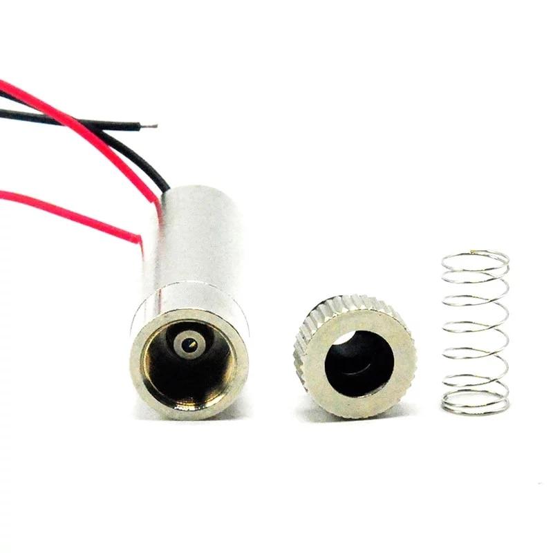 Фокусируемый 780 нм 30 мВт 12x35 мм ИК инфракрасный лазер диод модуль точка точка линия крест w регулируемый головка