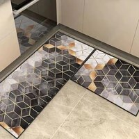 cartoons printed kitchen carpet mat 2021 new water absorption anti slip entrance doormat home living room rectangle floor mats