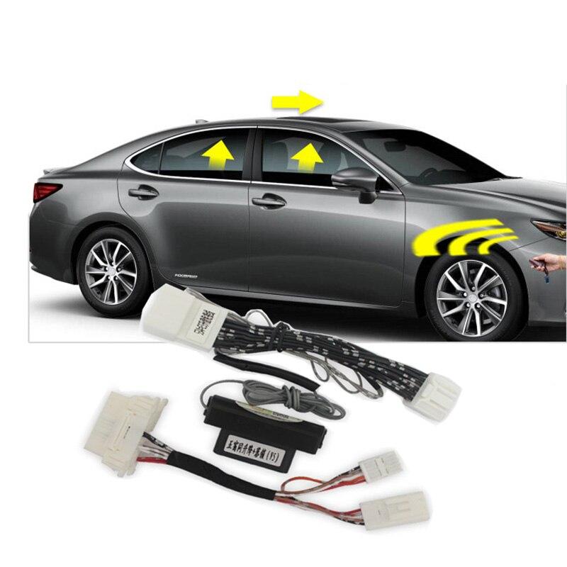 Intelligent window closer for Lexus ES IS RX NX GX460 LX570  automatic door closer  automatic lock device OBD window closer
