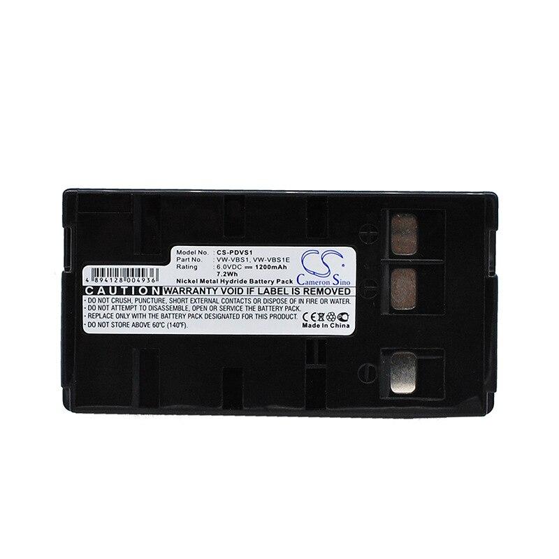 CameronSino para JVC BN-V10U BN-V11U para PANASONIC NV-3CCD1 NV-61 NV-63 NV-G1 NV-G101 NV-G101A NV-G120 NV-G2 NV-G200 batería