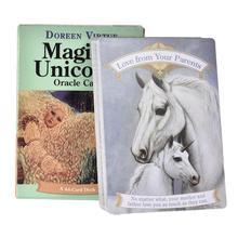 Jeu de cartes de Tarot Oracle magique, 44 pièces/ensemble, jouets complets pour enfants et adultes avec guide PDF, nouveauté 2020