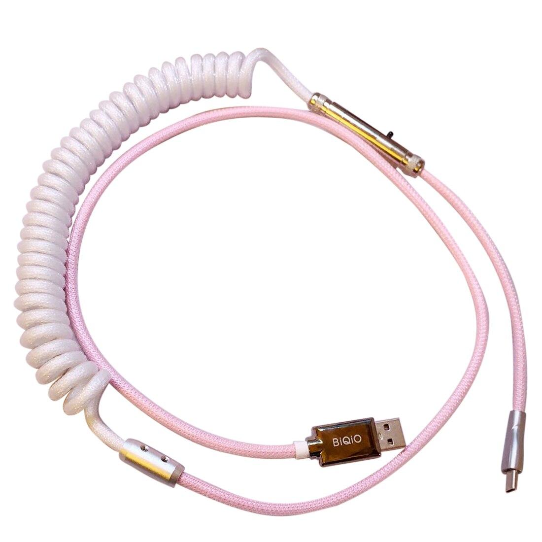 Cable USB2.0 tipo C hecho a mano, conector XRL personalizado de 1,2...