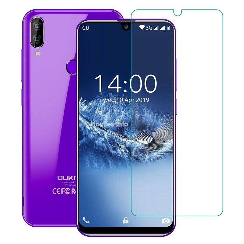 Vidro temperado para oukitel c15 pro + c16 c17 y4800 u18 u23 wp5000 k12 k10 protetor de tela do telefone capa de filme de vidro protetor