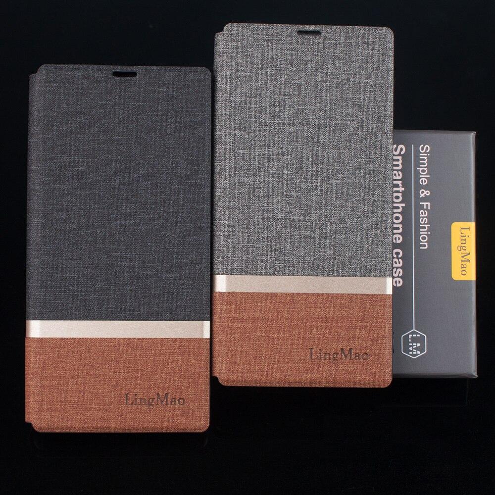 Кожаный чехол с откидной крышкой для Huawei Honor 7A, русская версия, чехол-держатель для телефона Huawei P30 lite, чехол для Honor 6A, двухцветный прошитый че...