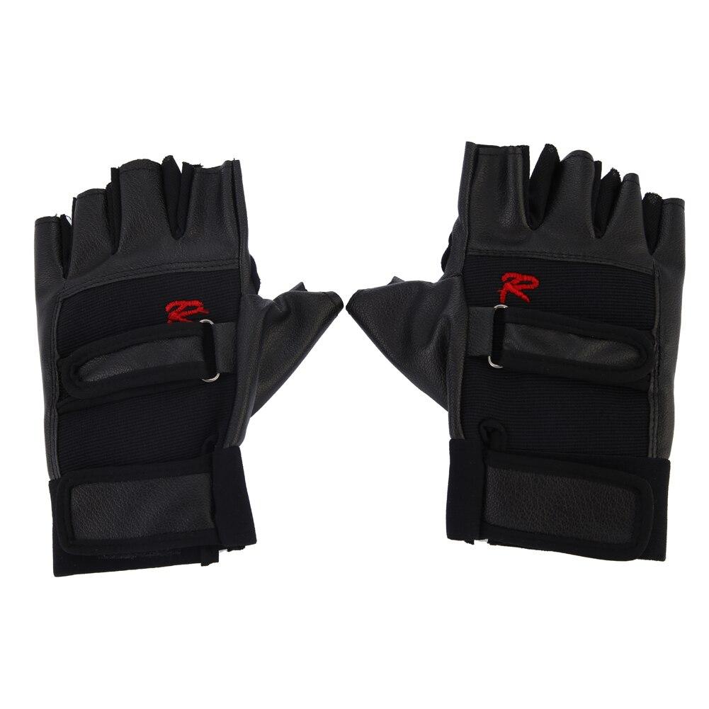 Guantes deportivos de cuero PU para Fitness, guantes de cuero para bicicleta, guantes para motocicleta, guantes para ciclismo, equipo de gimnasio para levantamiento de pesas, nuevo