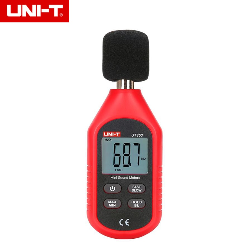 UNI-T UT353 30~130dB Mini Sound Lever Meter Digital Voice Tester Noice Decibel Monitor