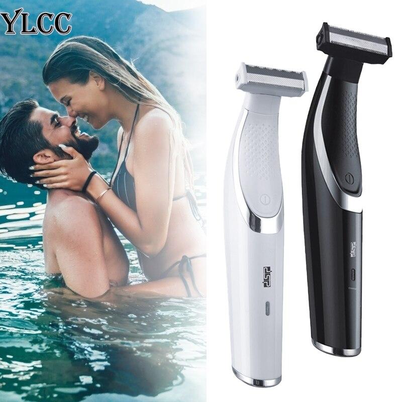 barbeador eletrico unissex ylcc aparador para remocao de pelos sem dor maquina de