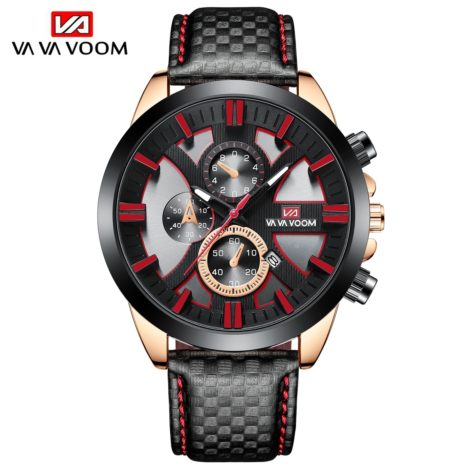 2021 New 45mm Dial Fashion Watches Top Brand Luxury Sports Waterproof Chronograph Military Genuine L