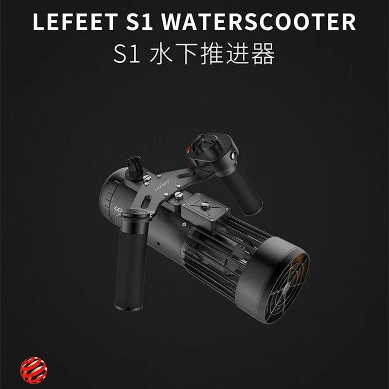 LEFEET S1 Electric Underwater Scooter 40-Meter Waterproof Adjustable Speed Propeller Scuba Diving Freediving Snorkel Equipment