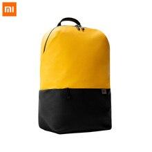 Оригинальный рюкзак Xiaomi Mi 20L с большой вместительностью, водонепроницаемая легкая сумка для ноутбука 15,6 дюйма, красочные спортивные нагруд...