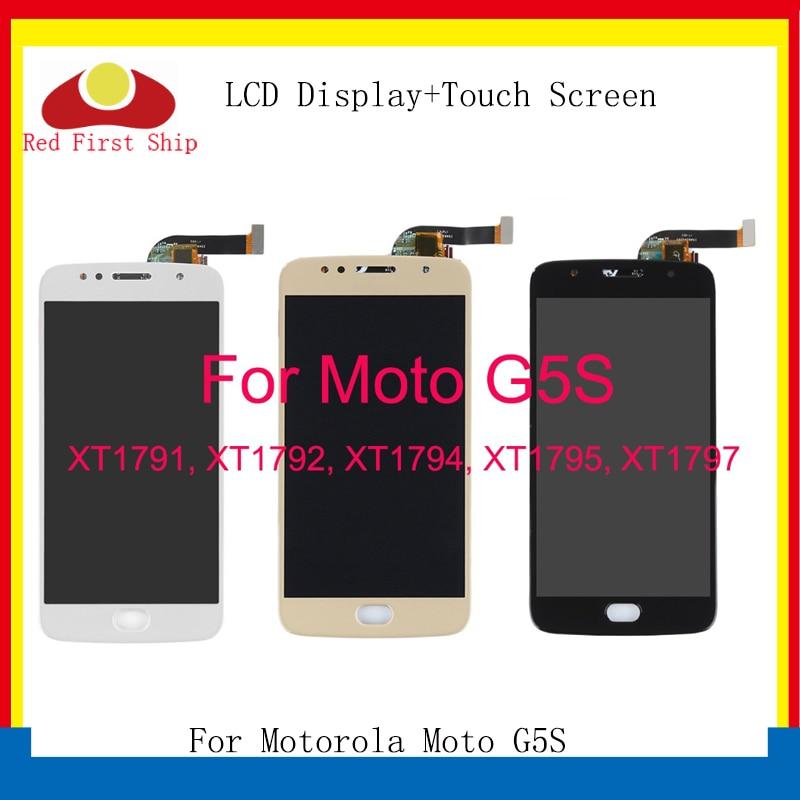 10 G5S pçs/lote Display LCD Para Motorola Moto LCD Para Moto G5S XT1793 XT1794 XT1792 Disaplay Tela de Toque Digitador Assembléia