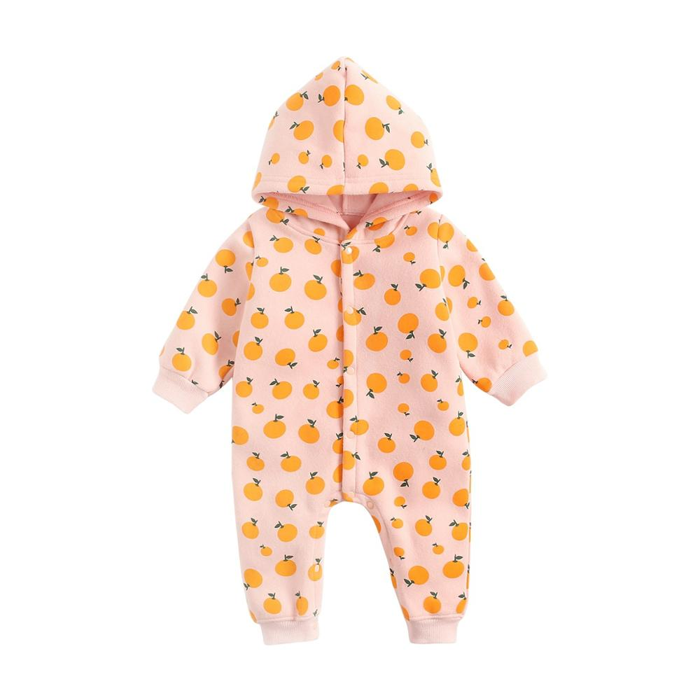 0-3T Newborn Kids clothes autumn and winter long Jumpsuit hot style baby High quality jumpsuit winter Korean cartoon Baby romper